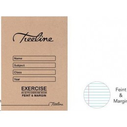 Treeline exercise book A5...