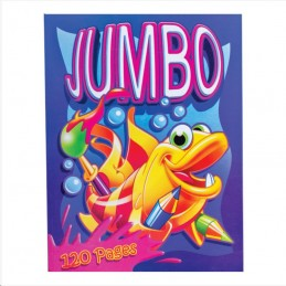 Jumbo Colouring Book 120 pages