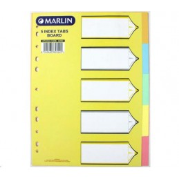 Marlin A4 Index Divider 5...