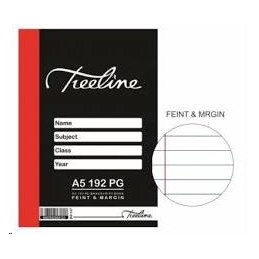 TREELINE A5 HARD COVER BOOK...