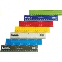 Trefoil Ruler 15cm Plastic...