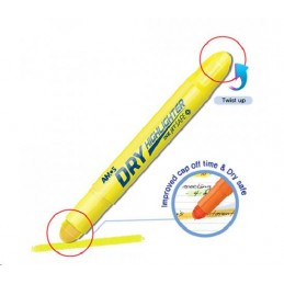 Amos Highlighter Dry Yellow