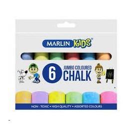 Marlin kids colour jumbo pkt 6