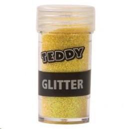 Teddy Glitter Shaker Yellow 8g