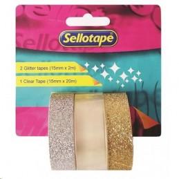 Glitter Tape & Clear Tape...