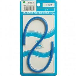 Trefoil Flexi Curve Blue 30cm