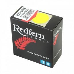 Redfern Labels Colour Codes...