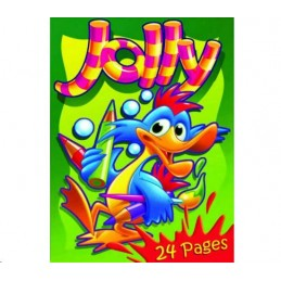 Jolly Colouring Book 24 PAGES
