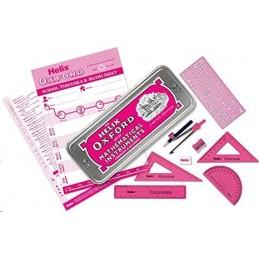 Oxford Helix Maths Set Pink