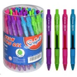 Retro Pen Neon Ball Assorted