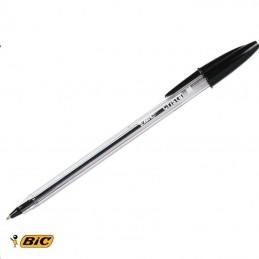 Bic Pen Crystal Medium Black