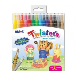 Amos Crayons Twisters 12...