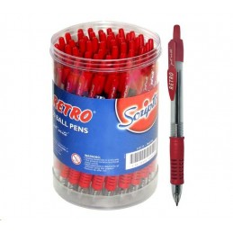 Retro Pen Ballpoint Red
