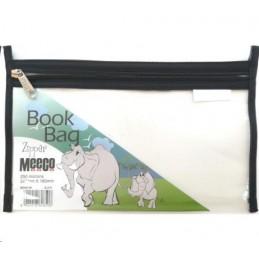 Meeco Book Bag Zip A5 Black