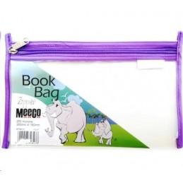 Meeco Book Bag Zip A5 Voilet