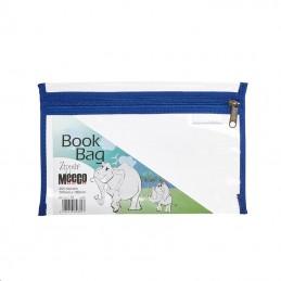 Meeco Book Bag Zip A5 Blue