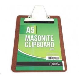 Treeline A5 Masonite Clipboard