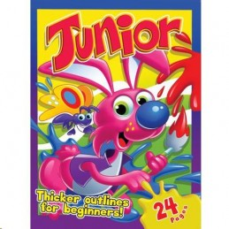 Junior Colouring Book 24 Pages