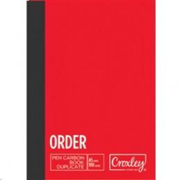 Croxley Book Carbon Order...