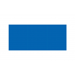 Folders 3 fold 180g blue