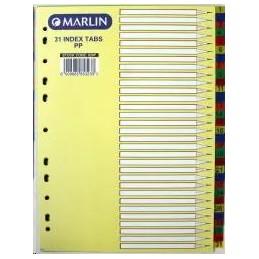 Marlin Index A4 1-31...
