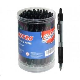 Retro Pen Ballpoint Black