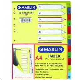 Marlin Index A4 1-10...