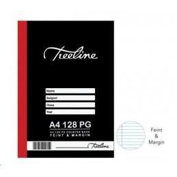Treeline Counter Book A4...