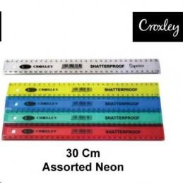 Croxley Ruler Shatter Proof...
