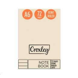 Croxley Notebook JD115 - A6...